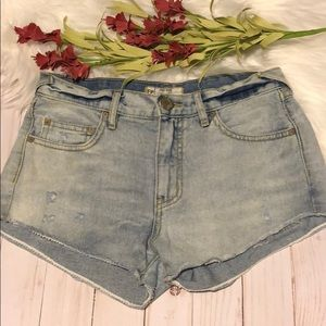 Free People shorts size 24